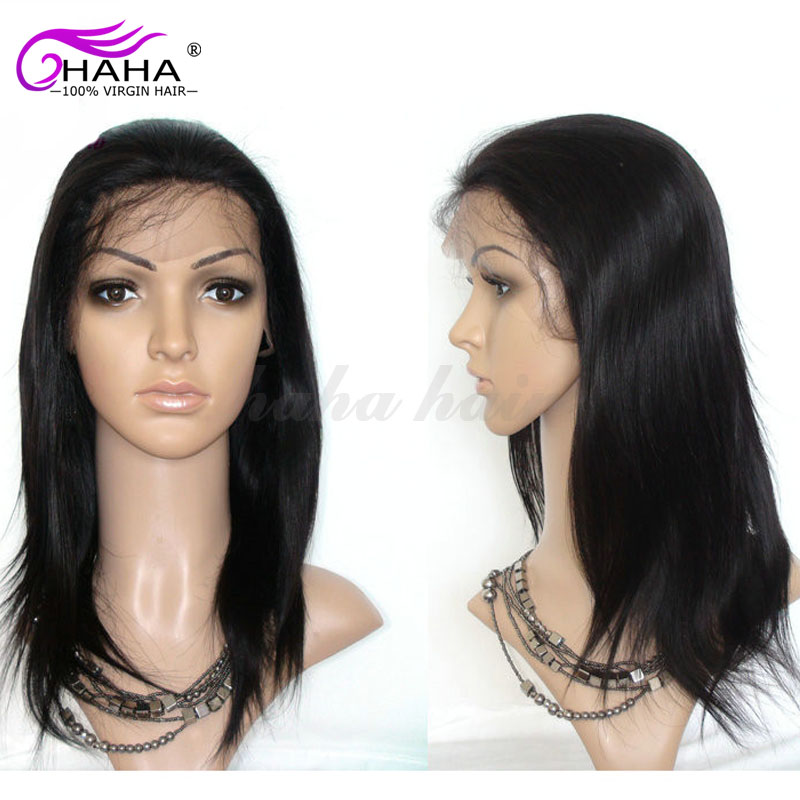 Drop Shipping Peruvian Straight Full Lace Human Hair Wigs For Black Women Straight Lace Front Wig Best 100% Human Hair Wigs Sale<br><br>Aliexpress