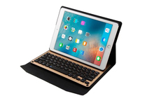 Detachable Aluminium Alloy Bluetooh Keyboard PU Leather Case Cove New For iPad Air 1 2 For iPad Pro 9.7 Keyboard Case Cover(China)