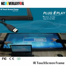 "22"" 2 Points  IR Touchscreen Frame Anti-glare Interference High-resolution Sensitive Respond  Precision And Reliability"