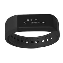2016 New Arrival I5 Plus Bluetooth 4.0 Smart Band Sports Tracking Call Message Reminding Smart Watch Bracelet #ER102