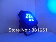 New LED Stage Par Light LED Flat Par Pro Lite 7x15W RGBAW 5IN1 with Fast Shipping Within 2 Days After Payment
