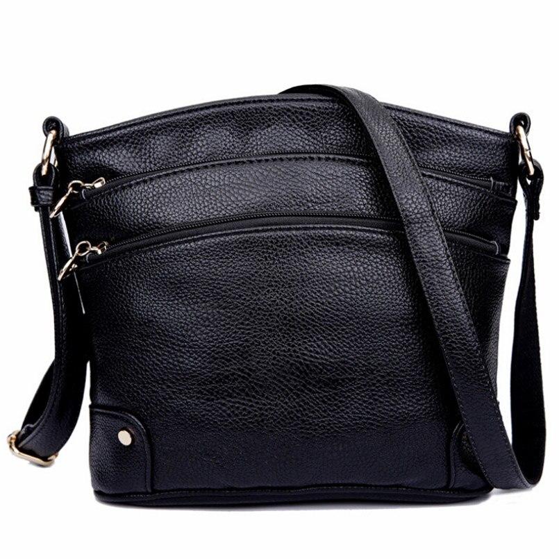 Fashion New Leather Bag For Women Handbags Famous Brands Bag Fashion Handbags Women Messenger Bag Sac a main Handbags<br><br>Aliexpress