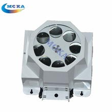 8 Eyes Pattern Light RGBW Mix Color LED 30W Spots Light DMX Stage Mini LED RGB DJ Stage Lighting(China)