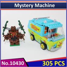 BELA 10430 Compatible Legoes Scooby Doo The Mystery Machine 75902 Building Block Model Educational Toys For Children(China)