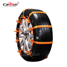 10Pcs Winter Anti-skid Chains for Car Truck Universal Tyres wheels Snow Chains Orange Tire Outdoor Belt Easy Install Car-Styling(China)
