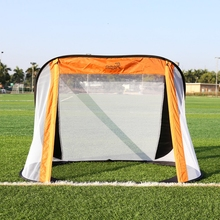 130*80*95CM Oxford Cloth Portable Soccer Goal Post Net Utility Football Soccer Goal Post Outdoor Indoor Sports Training(China)