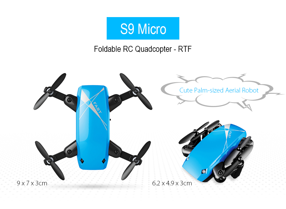 S9/S9HW Foldable Pocket Drone With HD Camera