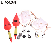 Silver Carp Fishing Float Sea Monster with Six Strong Explosion Hooks Two Fishing Tackle Sets with Box