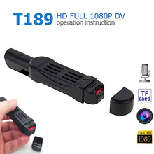 Original T189 Mini DV Camera HD 1080P 720P Pocket Pen Micro Camera Video Voice Recorder Camcorder Camara Digital DVR Cam
