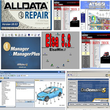 auto 2017 data software alldata v10.53 with mitchell on demand new + 26 in 1TB HDD auto repair software Best price