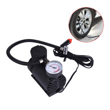 Mini 12V 250PSI Electric Auto Car Inflatable Pump Portable Air Compressor 80W Inflator for Bicycle Tire Balls Airbeds