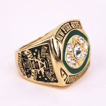 USA size 7 to 15! 1968 New York Jets Super Bowl 3 championship rings replica NAMATH solid ring display box drop shipping(China)