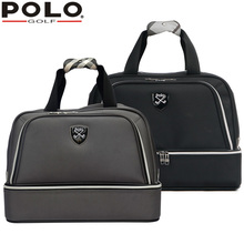 High-quality Brand Polo Genuine Golf Clothing Bag of Men's Shoes Bags Large Capacity Oxford Fabric 2016 New Travel Apparel Bags