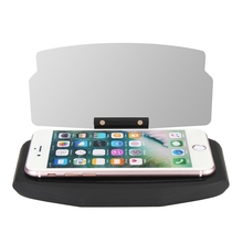 Car Windscreen Projector HUD Head Up Display Universal Mobile Phone Holder Multifunction 6.5 Inch For iPhone For Samsung GPS(China)