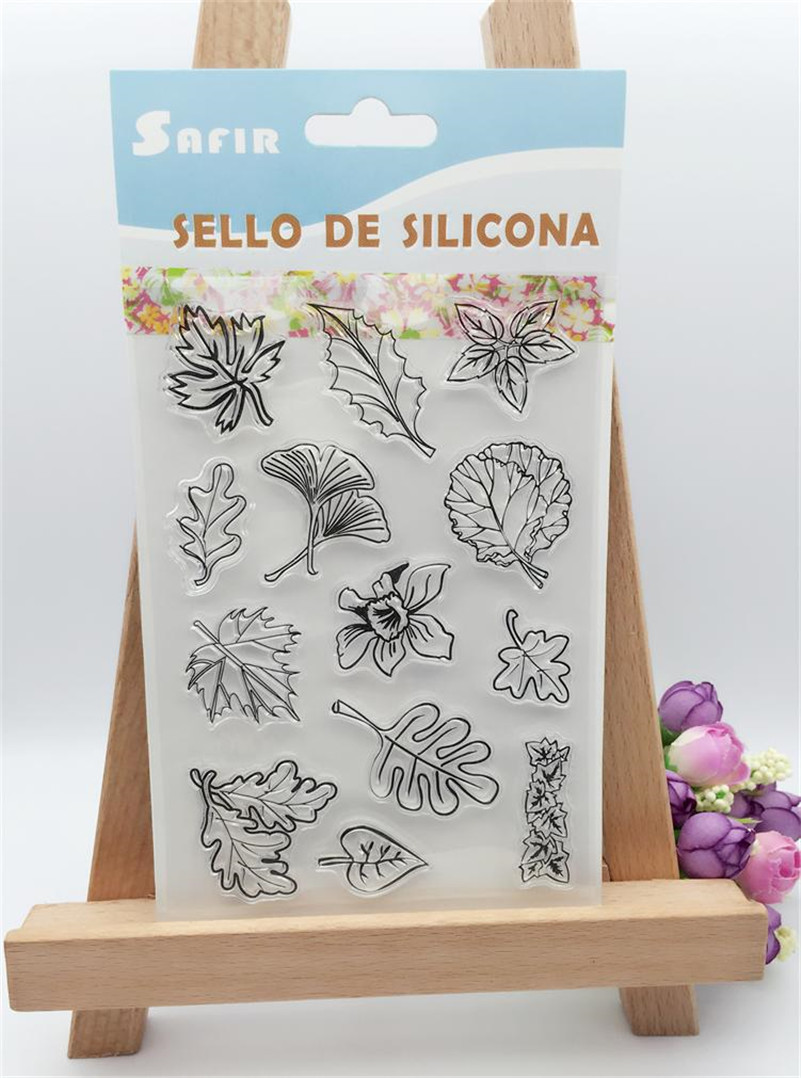 New arrival scrapbooking DIY Transparent Clear flowers trees branch  Rubber Stamp Seal Paper Craft Scrapbooking CL-213<br><br>Aliexpress