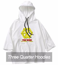 9 Three Quarter Hoodie