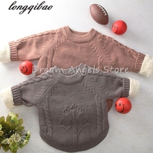New brand autumn winter children sweaters knitwear infant/baby boys girls sweater kids sweaters child clothes Free shipping