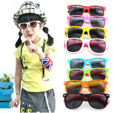On Sale Boy Girl Sunglasses Child Sun Glasses Anti-uv Baby Sun-shading Eyeglasses Kids Sunglass Random Color