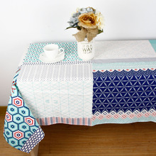 New Fashion  Cotton Linen TableCloth Europe High Quality Personalize size Tablecloth Decorative Caven Table Cover