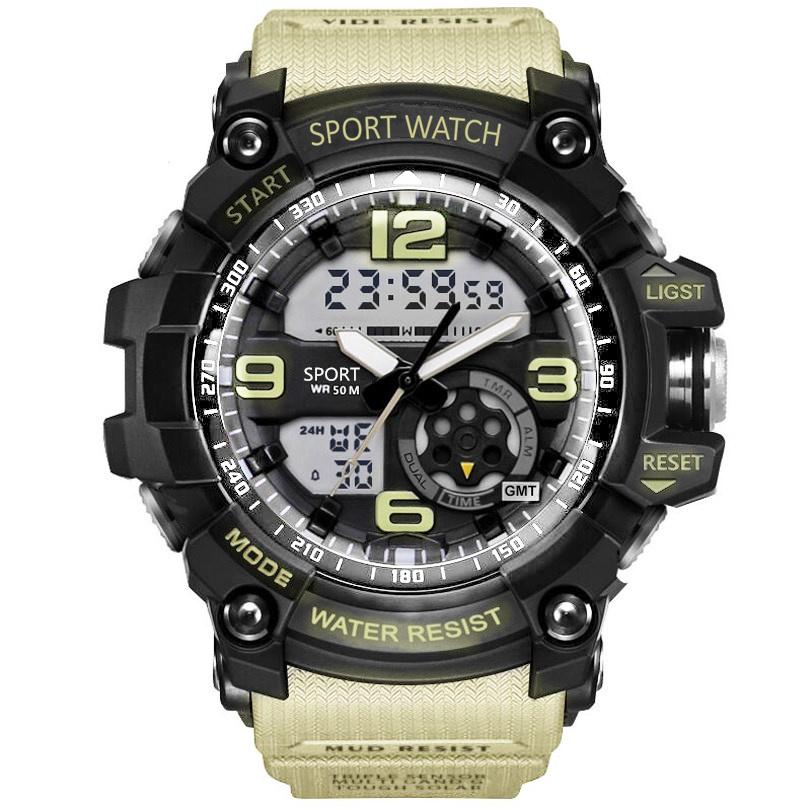 SMAEL-Men-Military-Watch-50m-Waterproof-Wristwatch-LED-Quartz-Clock-Male-relogios-masculino-1617-Digital-Sports