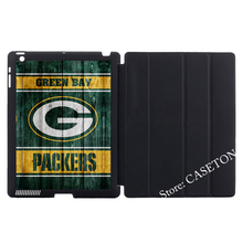 Green Bay Packers American Football Fans Cover Case For Apple iPad Mini 1 2 3 4 Air Pro 9.7 10.5 2016 New 2017 a1822(China)