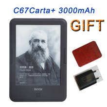 ONYX BOOX C67ML Carta+ Ebook Reader e-ink Capacitive Touch E Book Light Eink Screen E-Book E-ink E-Reader 3000mAh WIFI +Case