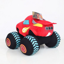 Plush Doll Blaze Monster Machines Toys Vehicle Car Pickle Zeg Darrington Crusher Stripes Original Box BlazeMonster XSJ017
