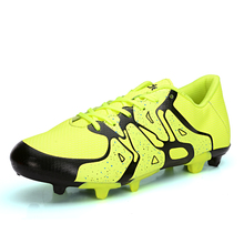 2016 Good Football Trainers Mens Non-Slip Soccer Cleats For Men Blue Boys Football Boots New Arrival Football Boots For Women