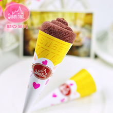10pcs/lot Hot Sale Cake Towels Gift,Candy Towels,Novelty Wedding Gift,Lovely Lollipop Towel,Icecream Towels