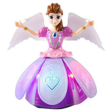 Flying Fairy Dolls For Girls Infrared Induction Control Flying Angel Doll Baby Toys Christmas Kids Gift Electric Toys Dolls(China)