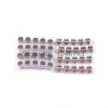 8ValuesX10PCS=80PCS SMD CD54 Inductor Pack 4.7UH - 100UH Inductors Kit