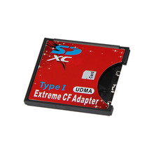 WiFi SD  SDXC To CF Type I Compact Flash Memory Card Adapter Reader