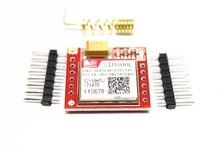Free shipping 10PCS SIM800L GPRS GSM Module PCB Micro SIM Board /Card Core Board Quad-Band TTL Serial Port Kit(China)