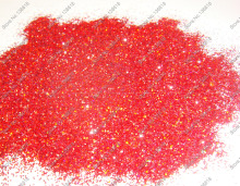 "50gram-1/64""(0.4MM)015 Holographic Laser Red Color Shining Nail Glitter Dust Powder for Nail Art decoration&Glitter Crafts"