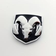 Automobiles Animal Promotion New 2016 Vw Car Accessories 3D Ram Sticker For Dodge Journey Durango Ram Charger Circuit Dart Etc