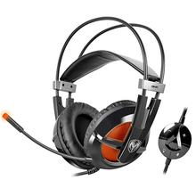 Lightweight Professional 7.1 Virtual Surround Sound Effect USB Gaming Headphone PC Game Headset With HiFi Microphone