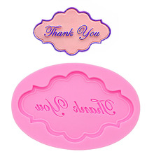 English letters sugar cakes soft silicone molds handmade chocolate soap mold dessert decorations DIY pastry baking gadgets new(China)