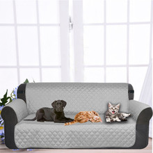 Dog Double-seat SOFA Cover Protector for Dog Kids Pets Cat Reversible Furniture Loveseat Nonslip Two Seats Chair Covers PT1246(China)