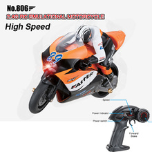 Freeshipping Children JXD 1:10 Mini RC Motorcycle 2.4GHz High Speed Remote Control Moto RTR Electric Toys Gift For Kids No.806