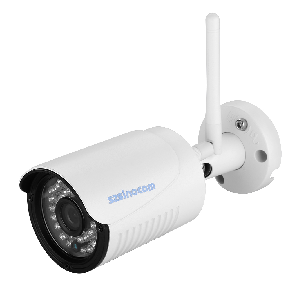 Szsinocam 720P Waterproof WLAN Wireleess 1.0 Megapixel ONVIF Security CCTV WiFi IP Camera EU Plug<br>
