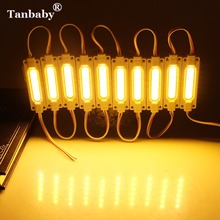 Tanbaby 20pcs/lot DC12V LED Module Waterproof COB  LED Module Ulter Brightness 2W COB Light Advertising Lamp Led Sign