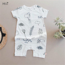kikikids baby boy brand newborn romper girl romper tiny cottons baby jumpsuit White Romper For New baby clothes vestido infantil