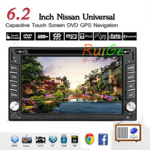 dual-core 6.2 inch 2 Din android car 5.1fits NISSAN QASHQAI Tiida car audio stereo radio with gps 3 g wi-fi dvd automotivo
