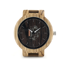 Buy BOBO BIRD Mens Wooden Watches Quartz Watches Genuine Leather Strap Wood Wristwatches Vintage Relogio Masculino C-H29 for $16.74 in AliExpress store