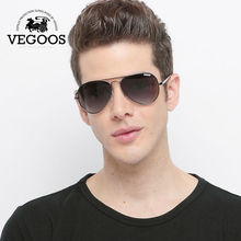 VEGOOS Designer Brand Aviation polaroid sunglasses for men Classical Sun Glasses Driving Pilot Size S #3025S(China)