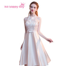 robe de mariage girls teen pageant short halter sweet 16 elegant homecoming  special occasion dresses 2018 d8b1914297d9
