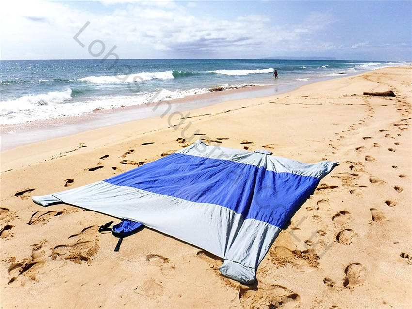 Sand Escape Compact Outdoor Beach Blanket mat new stlye16