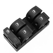 5 Button Car Driver Side Master Power Passenger Window Switch 8ED959851 AP For Audi A4 B6 B7(China)