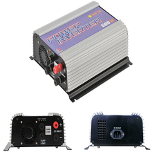 500W Grid Tie Solar Power Inverter for DC Output Wind Turbine MPPT Pure Sine Wave Inverter with  Dump Load