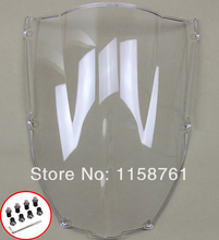 FREE SHIPPING Clear Windshield Windscreen For Kawasaki ZX6R 00-02 ZX 636 2000 2001 2002